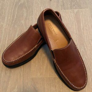 Cole Haan Grand.OS Leather Loafers Brown Size 10M